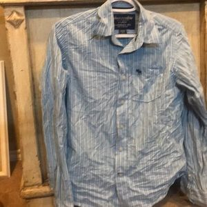 Abercrombie Boys button Down Shirt XL